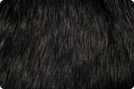 Arctic Fox Fur Black
