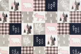 Cabin Quilt Cuddle® Blush
