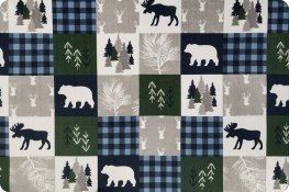 Cabin Quilt Cuddle® Navy