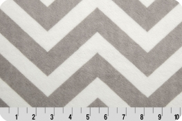 Chevron Cuddle® Silver/Snow