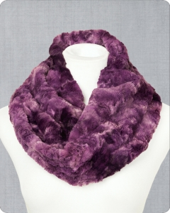 Infinity Scarf Cuddle® Kit Gallaxy Plum