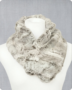 Infinity Scarf Cuddle® Kit Silver Fox