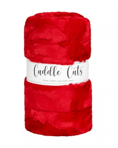 2 Yard Luxe Cuddle® Cut Hide Cardinal