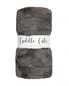 2 Yard Luxe Cuddle® Cut Hide Charcoal