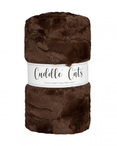 2 Yard Luxe Cuddle® Cut Hide Chocolate