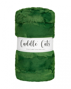 2 Yard Luxe Cuddle® Cut Hide Evergreen