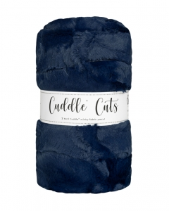 2 Yard Luxe Cuddle® Cut Hide Navy