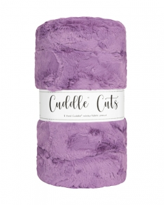 2 Yard Luxe Cuddle® Cut Hide Violet