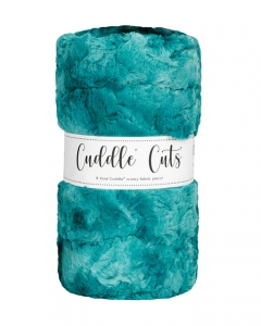 2 Yard Luxe Cuddle® Cut Galaxy Mallard