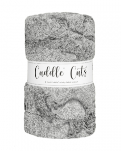 2 Yard Luxe Cuddle® Cut Heather Fog