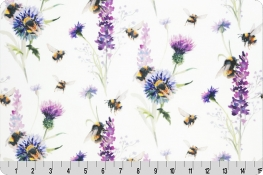 Bee Garden Digital Cuddle® Amethyst