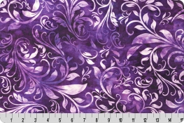 Bliss Batik Isabella Digital Cuddle® Amethyst