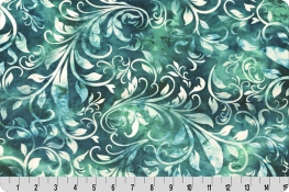 Bliss Batik Isabella Digital Cuddle® Teal
