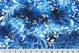 Bliss Batik Isabella Digital Cuddle® Turquoise