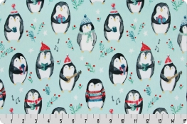 Cozy Penguins Digital Cuddle® Saltwater