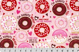 Love Donuts Digital Cuddle® Pink