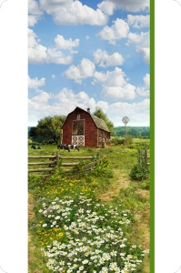 Hoffman Farm Digital Cuddle®Panel Green