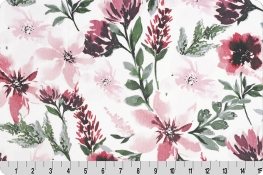 Spring Flowers Digital Cuddle® Rosewood