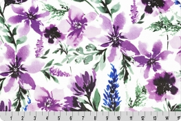 Spring Flowers Digital Cuddle® Wisteria