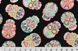 Sugar Skulls Digital Cuddle® Black
