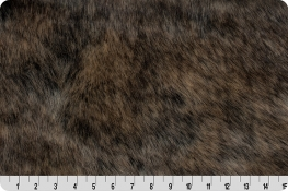 Dire Wolf Fur Taupe/Gray