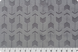 Embossed Arrow Cuddle® Graphite