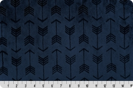 Embossed Arrow Cuddle® Navy