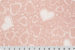 Two Of Hearts Embrace® Print Dusty