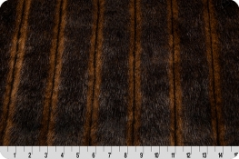 Fancy Mink Fur Brown