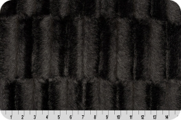 Faux Fur Promo Embossed Mink Chocolate