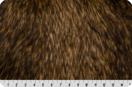 Golden Wolf Fur Gold/Brown