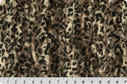Luxe Cuddle® Bobcat Taupe/Black