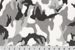 Luxe Cuddle® Camo Gray