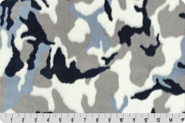 Luxe Cuddle® Camo Navy