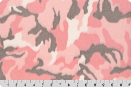 Luxe Cuddle® Camo Pink