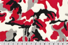 Luxe Cuddle® Camo Red