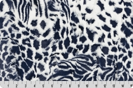 Luxe Cuddle® Exotic Navy/Snow