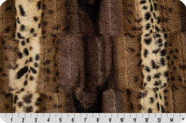 Luxe Cuddle® Fancy Leopard Brown/Gold