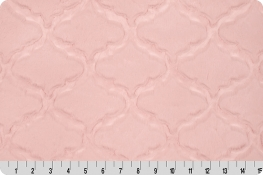 Luxe Cuddle® Lattice Baby Pink