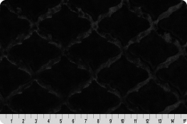 Luxe Cuddle® Lattice Black