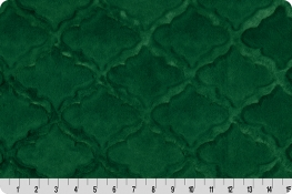 Luxe Cuddle® Lattice Emerald