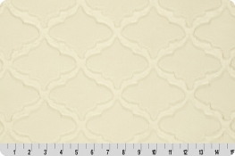 Luxe Cuddle® Lattice Ivory