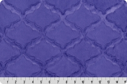 Luxe Cuddle® Lattice Periwinkle