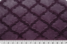 Luxe Cuddle® Lattice Plum