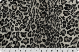 Luxe Cuddle® Leopard Steel