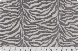 Luxe Cuddle® Zebra Graphite