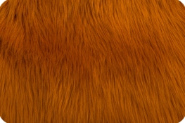 Luxury Shag Fur Amber