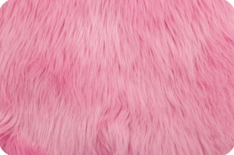 Luxury Shag Fur Bubble Gum