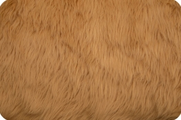 Luxury Shag Fur Camel
