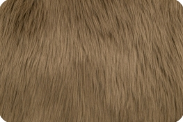 Luxury Shag Fur Cocoa